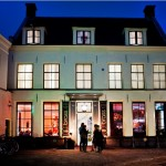 Restaurant Brass Utrecht - gevel avond